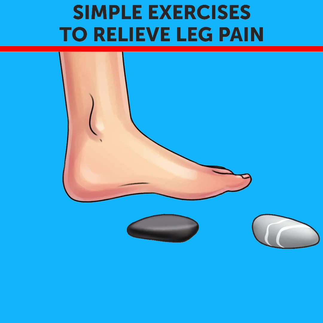 Simple Excercise To Relieve Leg Pain (Toe Games)