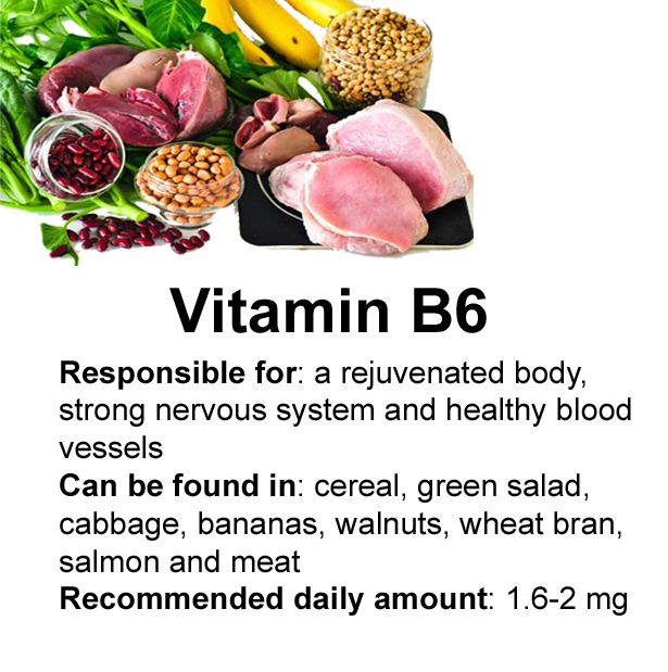 Vitamins in Body