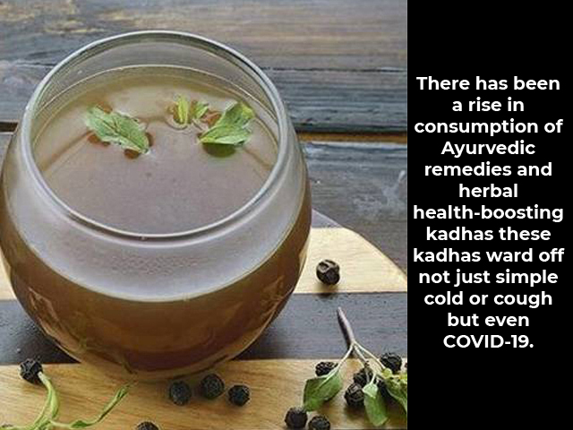 Herbal Health-Boosting Kadha to Prevent Covid-19