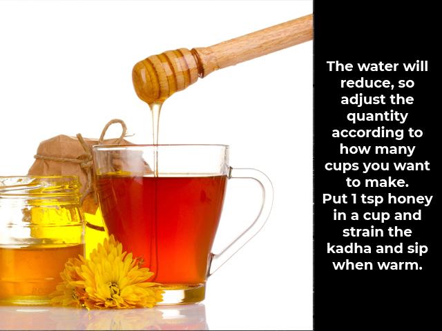 Herbal Health-Boosting Kadha to Prevent Covid-19