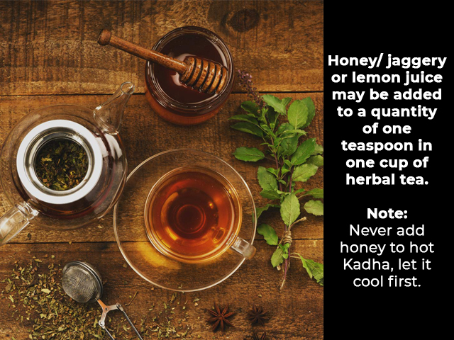 Kadha Recipe for Cold & Cough