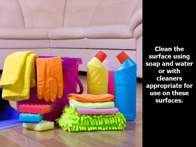 How to Disinfect Soft Surfaces and Electronics?