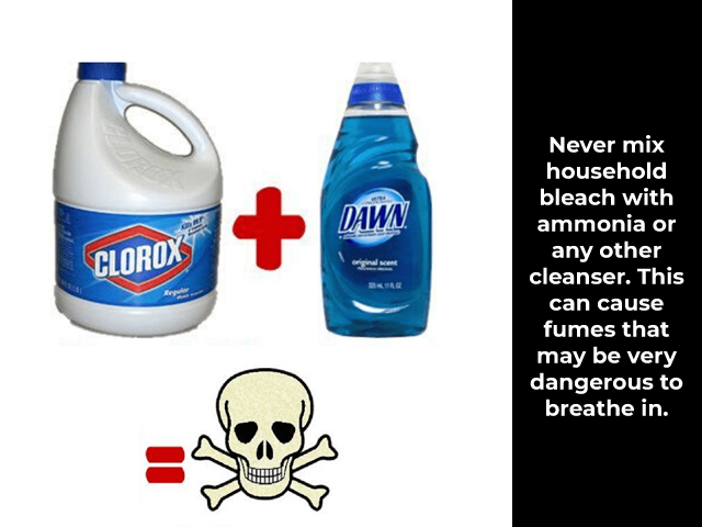 How to use Bleach for Cleaning?