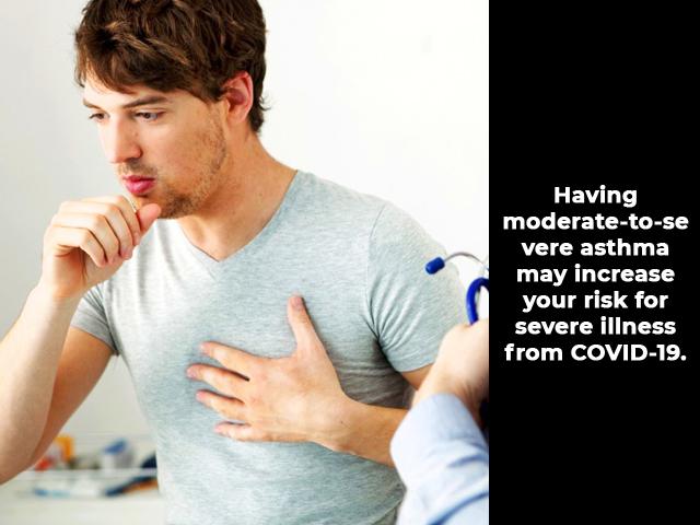 Does asthma raise Covid-19 risk?