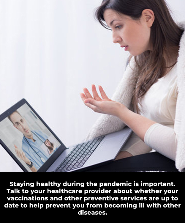Stay Healthy During the COVID-19 Pandemic.