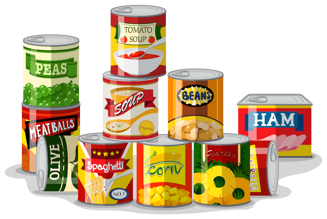 Beware! Canned foods may harm your digestive system