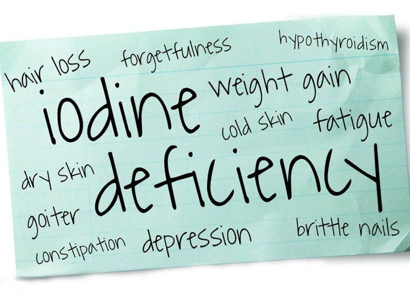 Iodine Deficiency - 11 Symptoms You Should Not Ignore!