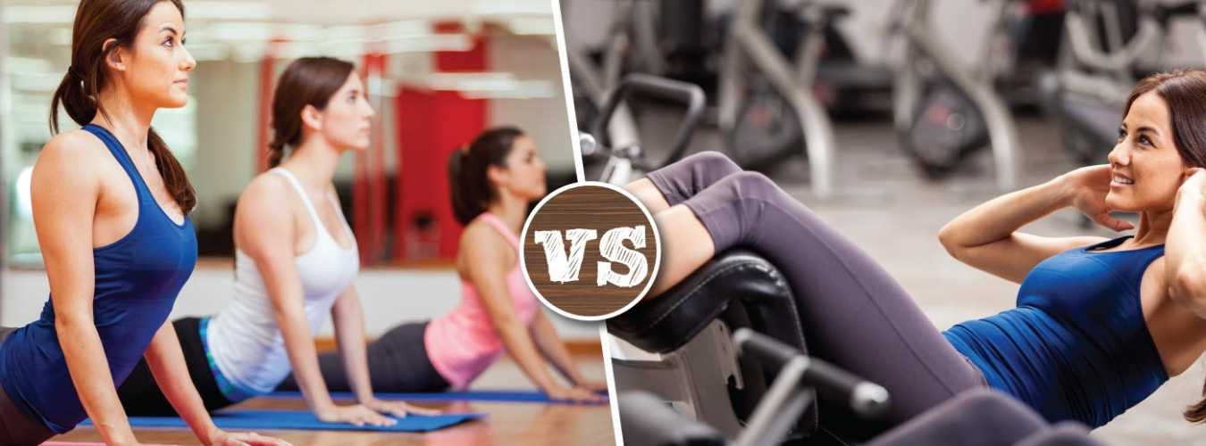 Yoga Vs. Gymming- Find Out What Works Best for You