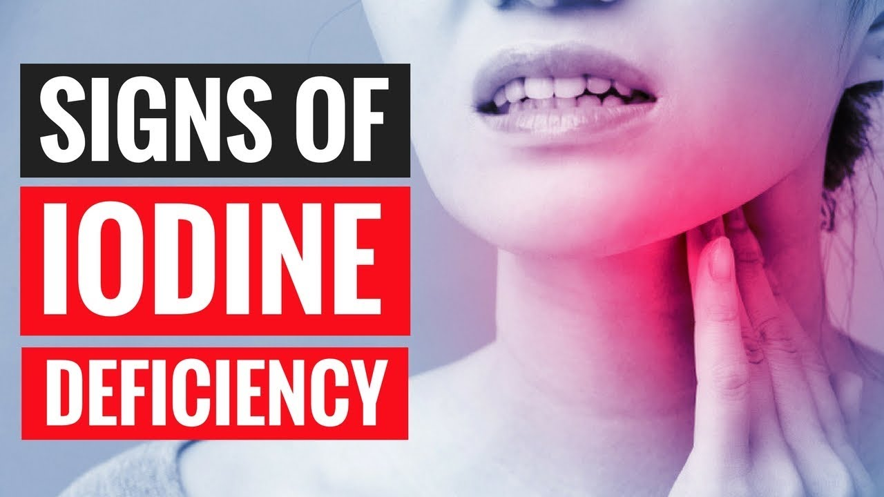 Iodine Deficiency - 11 Signs You are Suffering from it!