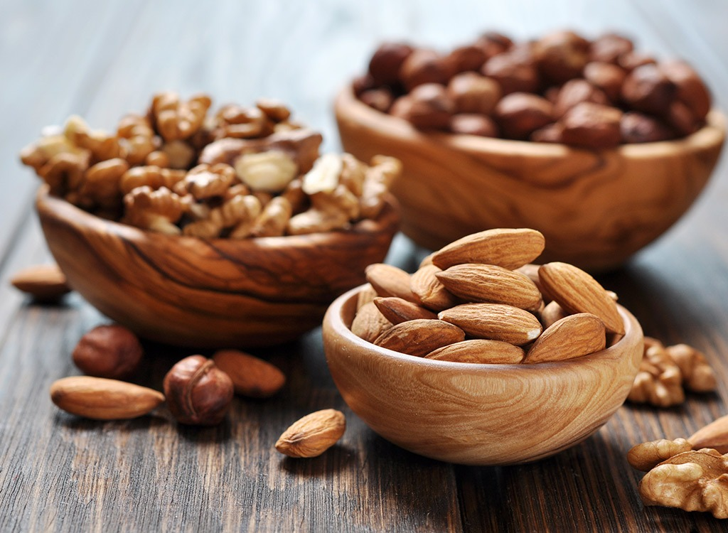 Some Nutritional Factors Of Almonds & Walnuts