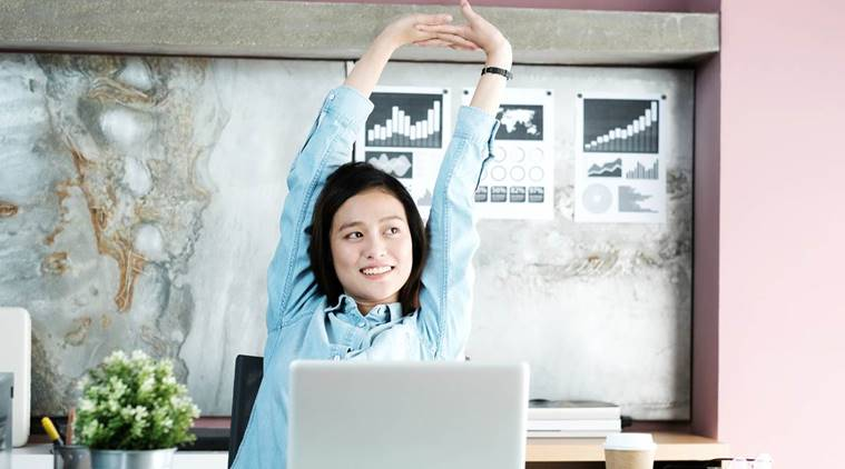 From chair dips to foot drill: Smart ways to exercise at your work desk