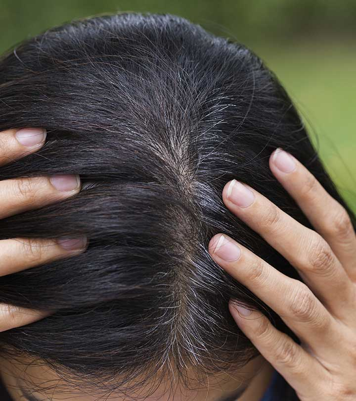 Natural Homemade Recipe for Reducing Grey Hair