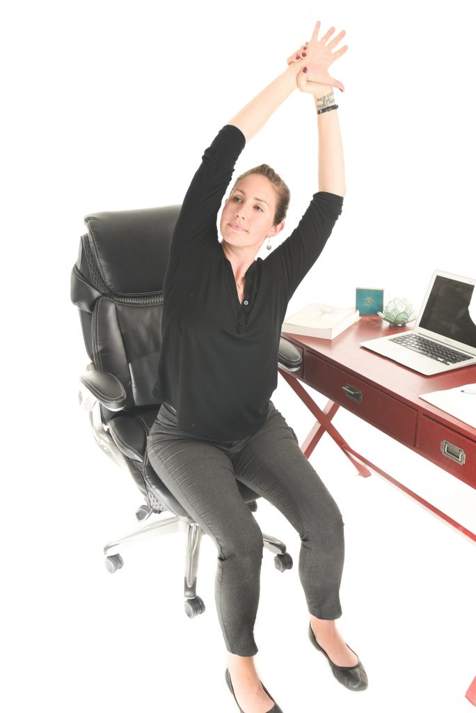 Office Yoga: Simple Exercises You Can Do Right at Your Desk to Reduce Stress