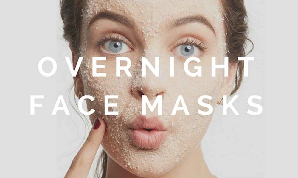 DIY Overnight Face Masks For Healthy Skin
