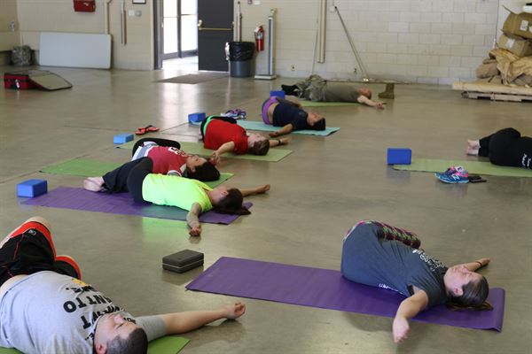 Yoga classes in school may help kids fight stress, anxiety