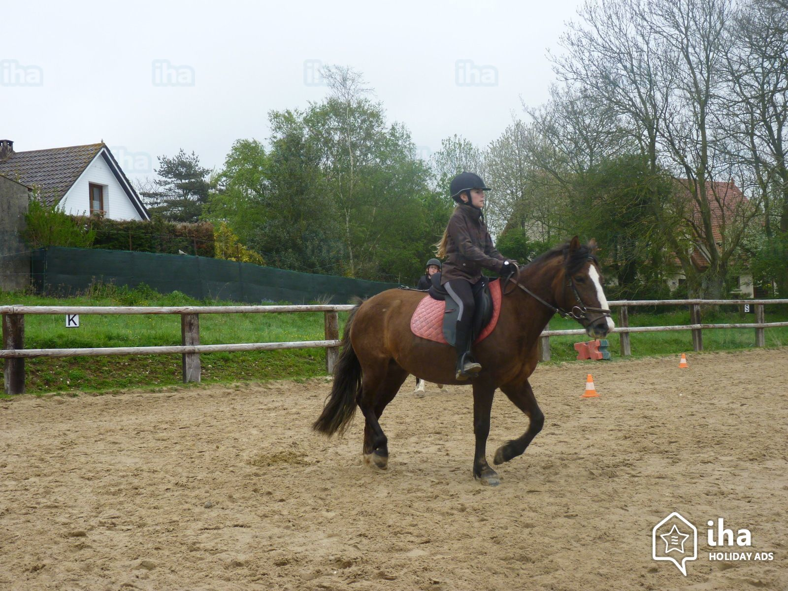 Horse riding eases back pain,boosts confidence