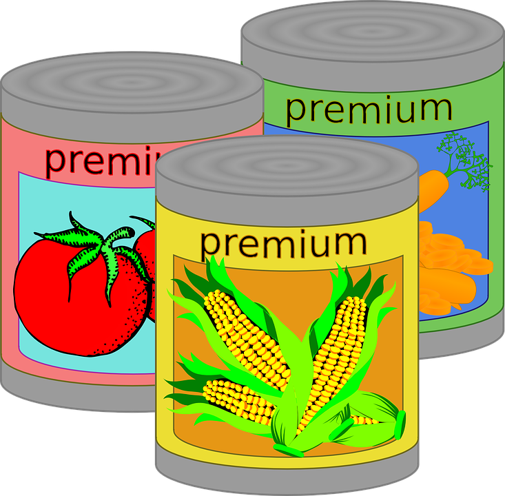 Zinc oxide in canned foods may damage your digestive system