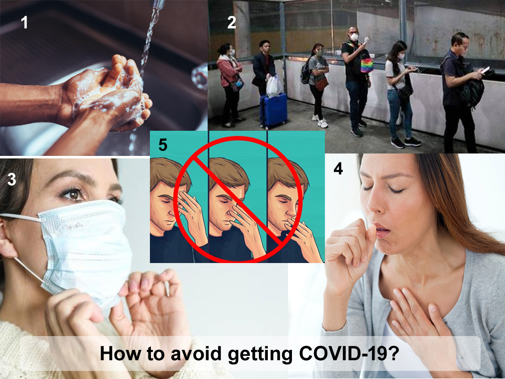 How to avoid getting COVID-19