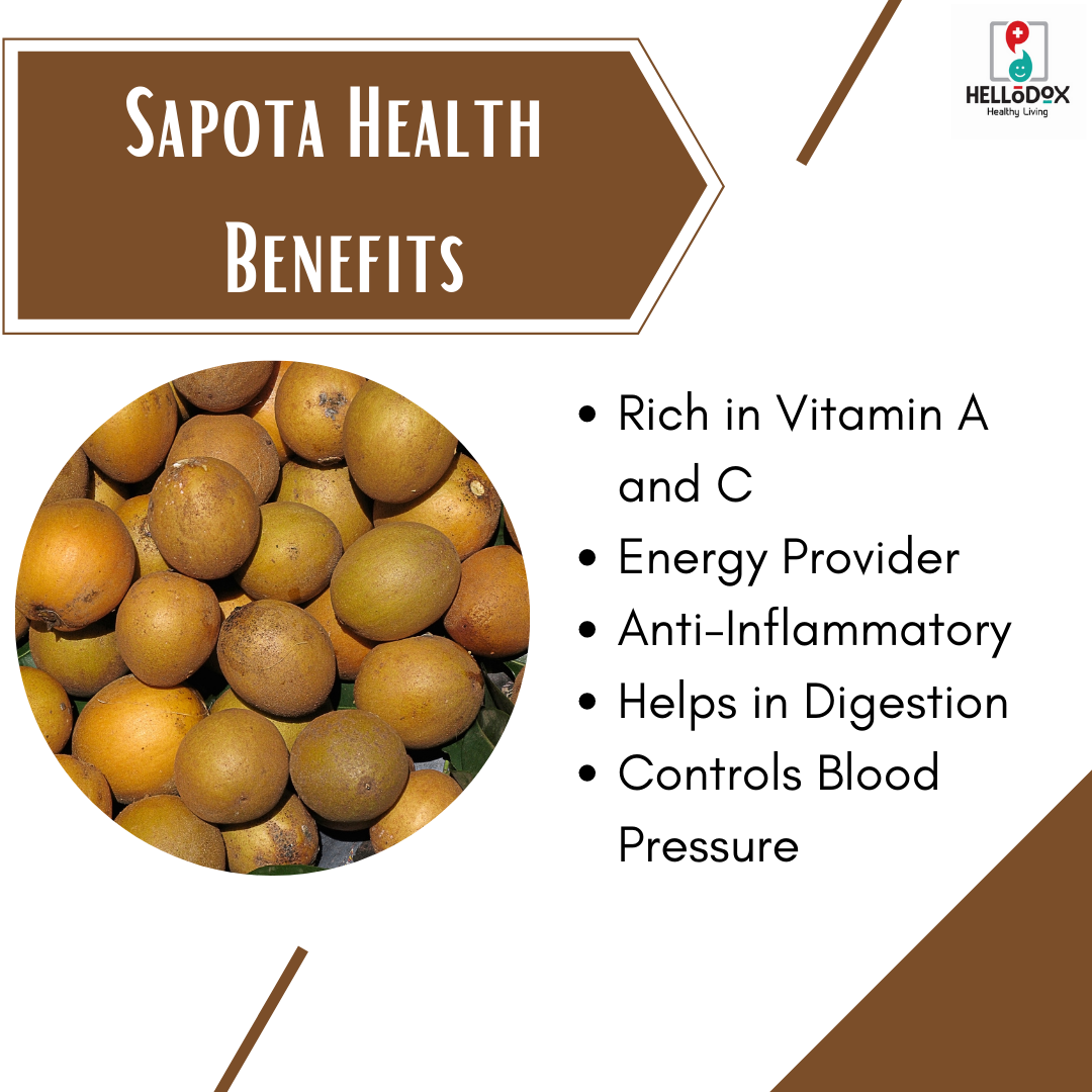 Sapota Health Benefits