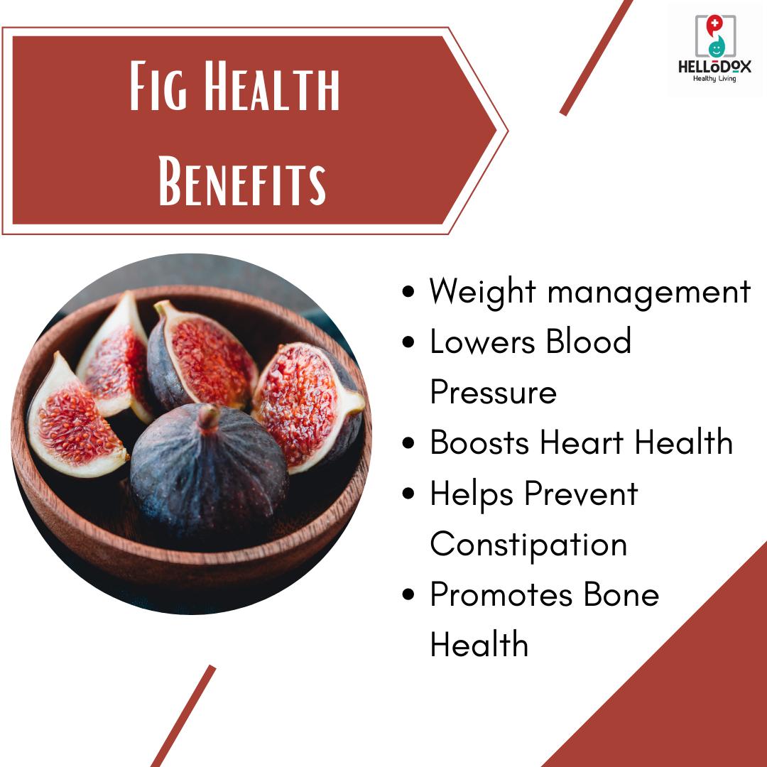 Fig Health Benefits